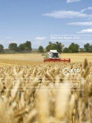 KTG Agrar AG Mid Year 2010 Report