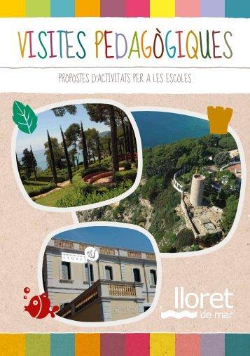 visites Pedagògiques - Ajuntament de Lloret de Mar