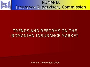 ROMANIA Insurance Supervisory Commission