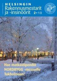 Yhdistyksen jäsenlehti 2/10, PDF tiedosto - Helsingin ...