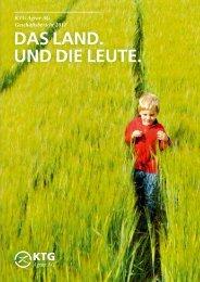Geschäftsbericht 2011 - KTG Agrar AG