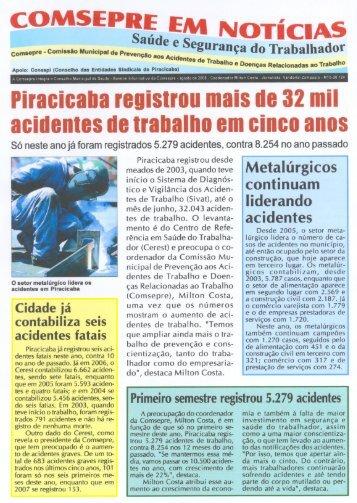 Boletim Informativo agosto 08