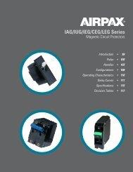 Airpax™ IAG series - Sensata