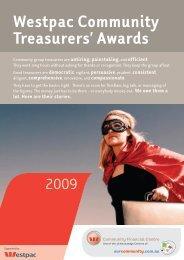 Westpac Community Treasurers' Awards - Our Community