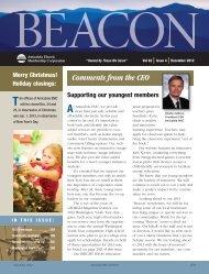 The Beacon December 2012 - Amicalola EMC