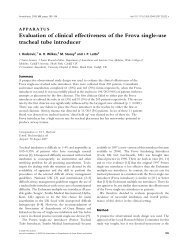 Evaluation of clinical effectiveness of the Frova single‐use tracheal ...