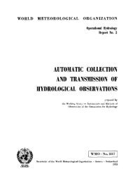 automatic collection and transmission of ... - E-Library - WMO