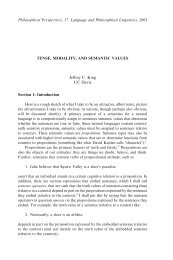 Tense, Modality, and Semantic Values