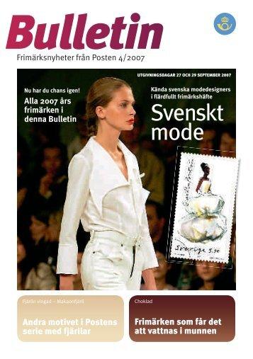 Svenskt mode - Posten