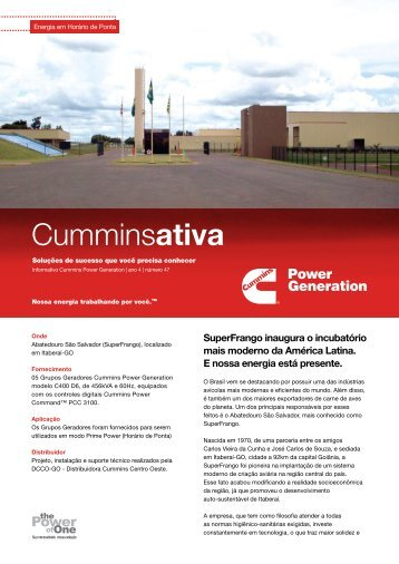 superfrango inaugura o incubatório mais moderno da américa latina ...