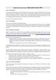 Règlement du jeu-concours Martinique Routard - Le Livre de Poche