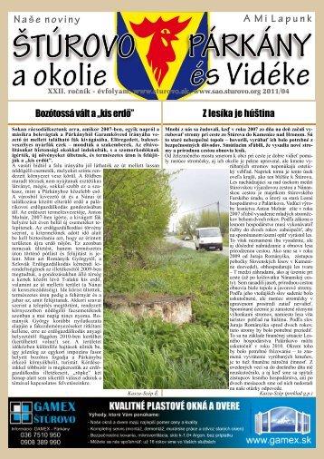 """Bozótossá vált a """"kis erdő"""" Z lesíka je húština - Mesto Štúrovo"""