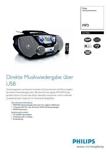 AZ1826/12 Philips CD-Soundmachine