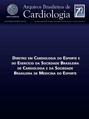 Diretriz em CarDiologia Do esporte e Do exerCíCio Da soCieDaDe ...