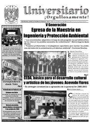 No. 45 · Lunes 06 de oct 2003 - Publicaciones - Universidad Juárez ...