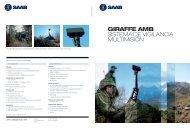 GIRAFFE AMB SiStema de vigilancia multimiSión - Saab