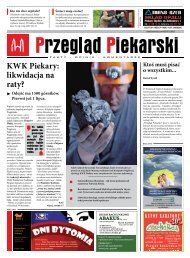 KWK Piekary: likwidacja na raty? - Przegląd Piekarski - Krzysztof ...