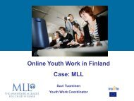 Online Youth Work in Finland - Mediakasvatus.fi