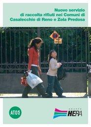 Nuovo servizio di raccolta rifiuti nei Comuni di ... - Il Gruppo Hera