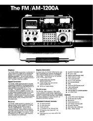 IFR-1200A Data sheet