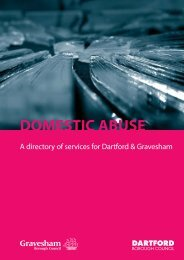 Domestic abuse directory of services - Gravesham Borough Council
