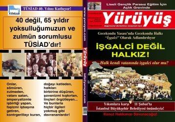 İŞGALCİ DEĞİL HALKIZ Ülkemizde Gençlik - Yürüyüş