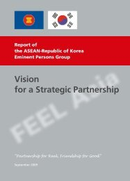 Vision for a Strategic Partnership - Asean