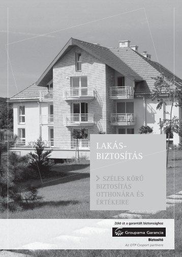 LAKÁS- BIZTOSÍTÁS - Biztositasifeltetelek.hu