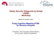 Fuzzy cognitive mapping and decision making under deep ...