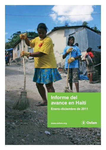 Informe del avance en Haití - Oxfam International