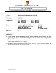 penolong pegawai perubatan gred u29 - Universiti Kebangsaan ...