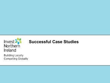 Successful Case Studies, Chris Nugent, Univ of Ulster (pdf)