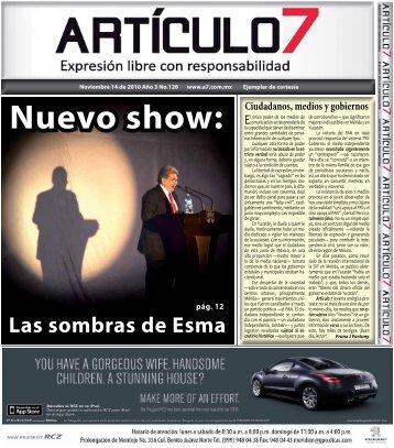 Nuevo show: - a7.com.mx