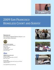 2009 San Francisco Homeless Count and Survey - Health Matters in ...