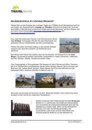 Nord-Deutschland - Travelmanie