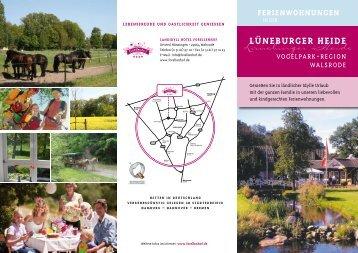 Ferienwohnungen - Lüneburger Heide