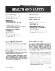 Health and Safety - Cub Scout Pack 883