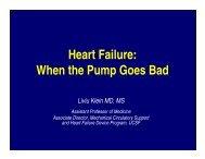 Heart Failure: When the Pump Goes Bad