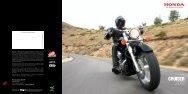 CRUISER 2012 - Honda