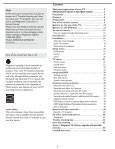 User Manual 26MD/32MD251D LCD TV WITH DVD ... - Magnavox - Page 5