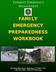 2012 Family Emergency Preparedness Handbook - City of Barre