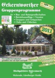 Walsrode, Lüneburger Heide Spezielle Saison-Angebote ...