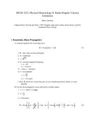 I. Essentials--Wave Propagation