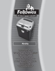 PS-67Cs - Fellowes