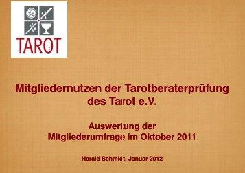 Umfrageergebnis PDF - Tarot eV