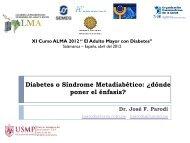 Diabetes o Síndrome Metadiabético - Academia Latinoamericana ...