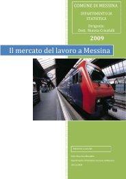 Il mercato del lavoro a Messina - Statistica - Comune di Messina