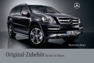 Original-Zubehör für die GL-Klasse. - Mercedes-Benz M3000