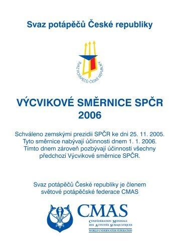Výcvikové směrnice SPČR 2006 (PDF) - Strany potápěčské