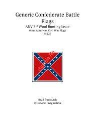 Generic Confederate Battle Flags - WarGameVault